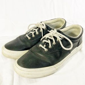 🔥HOT BUY🔥SPERRY Top-Sider Black & White Shoes